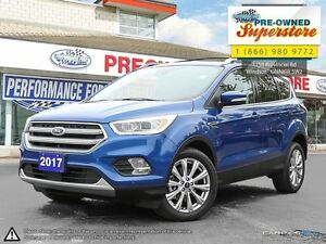 2017 Ford Escape Titanium***CAP UNIT  0% for the month of June**