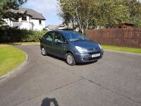 Citroen XSARA PICASSO DIESEL EXCLUSIVE 07 REG HDI 90 BHP ONLY 1 PREVIOUS KEEPER FROM NEW, LONG MOT