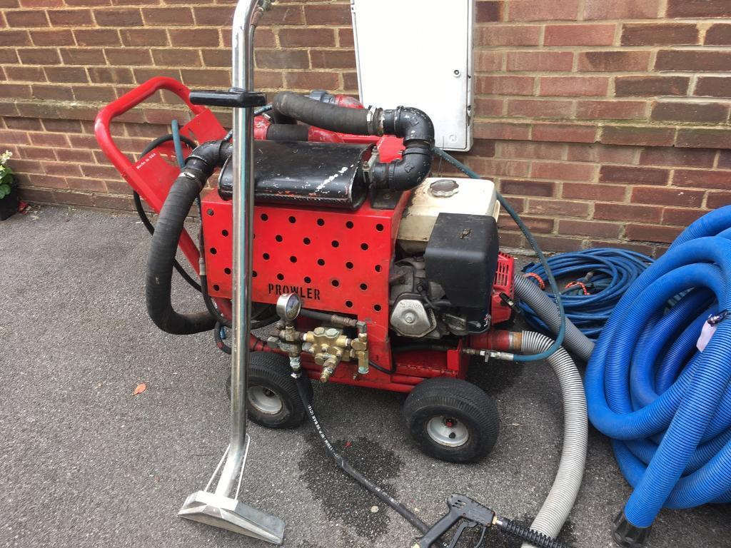 Amtex Prowler carpet cleaning truck mount machine