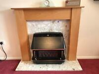 Beach fire surround