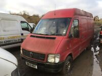 Volkswagen lt 35 2.5 tdi lwb spare parts available bumper bonnet wings wheels tow bar radiator