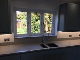 A brand new grey Solid Quartz worktop, upstands and window cils etc! Cost £5000 bargain £750