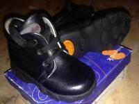 Italian Leather Baby Shoes - UK 4