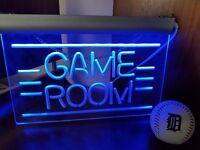 Neon gaming light