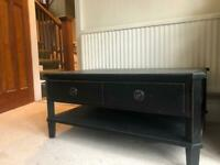 Laura Ashley black coffee table