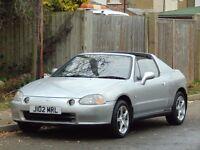 1992 Honda CRX Convertible.. Custom sports exhaust system.. Modified