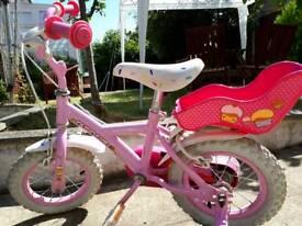 Girl's bike 10inch wheel