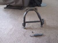 HONDA NC 750X TOP BOX RACK AND PANNIER RAILS AND CENTRE STAND