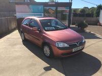 Vauxhall Corsa 1.4 Comfort 16V Automatic 3 Door Hatchback in Red. MOT & Recent Full Service