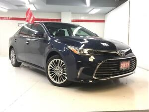 2017 Toyota Avalon low km/nav/psh butn/btooth/18allys/mroof/led
