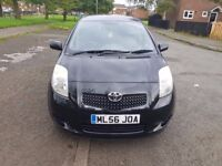 TOYOTA YARIS I.3 VVT-I BLACK COLOUR IN VERY GOOD CONDITION