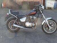 CLASSIC 1986 KAWASAKI EN450 CHOPPER PROJECT DELIVERY AVAILABLE SPARES OR REPAIR