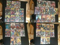 Bundle Of Panini Marvel Comics & Titan DC Comics (DC Universe, Batman/Marvel Legends & More)