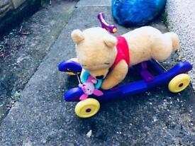 Winnie the Pooh ride along or rocker