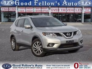 2014 Nissan Rogue AWD, LEATHER, PAN ROOF, NAVIGATION, CAMERA