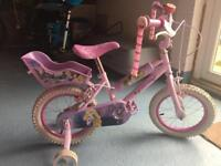 Girls bike 3 +