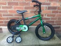 Boys Raleigh Sunbeam bike. Approx Age 4-6
