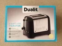 NEW Dualit 2 Slot Lite Toaster Cream