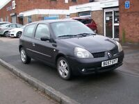 Renault Clio 1.2 Campus Sport I-Music 3dr IDEAL FIRST CAR LOW MILES 54K 2007 57