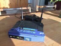 WRT54GL Linksys Wireless Access Point Router with 4-Port Switch DD-WRT