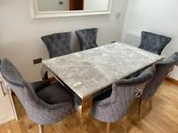 Clearance marble dining