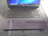 HP 15 Laptop quad core