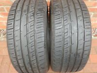 2X GENERAL ALTIMAX SPORT 225/40/18 Y XL** 7MM TREAD**
