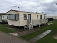 Caravan to rent 2017 Ingoldmells/Skegness fantastic location 3 bed 6/8 birth clean & comfortable