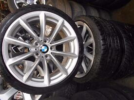 "19"" GENUINE BMW Z4 STYLE 296 ALLOY WHEELS / TYRES"