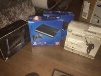 4x games consoles.