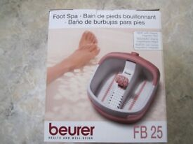 Beurer FB25 German quality Footspa with Magnetic Field Therapy -