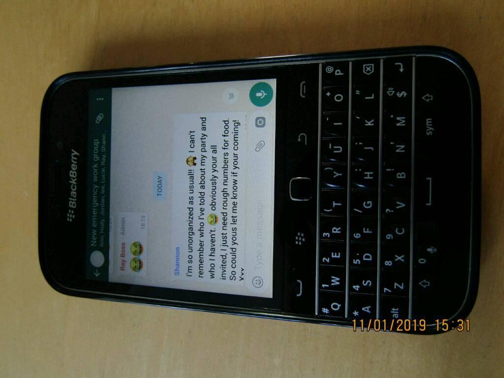 Blackberry classic, sim free, perfect condition | in Bournemouth, Dorset |  Gumtree