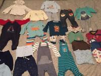 Boys baby clothes bundle. 6-9 months