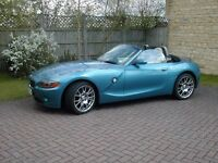 BMW Z4 2.2 with built in Sat- Nav very low mileage