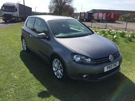11 REG VOLKSWAGEN GOLF 1.4 TSI GT 3DR-FULL HISTORY-6 SPEED-GREAT LOOKING GOLF-DRIVES REALLY WELL