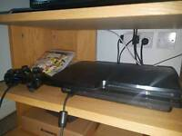 PS3 320GB + 1 GAME
