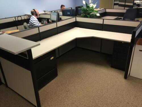 Used Office Cubicles, Global Contract Cubicles 6x8
