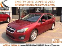 2012 Subaru Impreza 2.0i Touring AWD/AUTO/CLOTH/HEATED/ALLOY