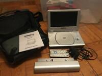 Acoustic solutions portable DVD player