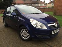 VAUXHALL CORSA 2009 1.2**5 DOOR**2 OWNERS**FULL VAUXHALL HISTORY**HPI CLEAR**