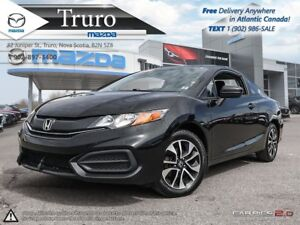 2015 Honda Civic Coupe $55/WK TAX IN! EX! SUNROOF! MANUAL! $55/W