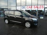 DIESEL !! CHEAP TAX !! 2010 10 CITROEN C3 PICASSO 1.6 PICASSO EXCLUSIVE HDI 5D 90 BHP PART EX WEL