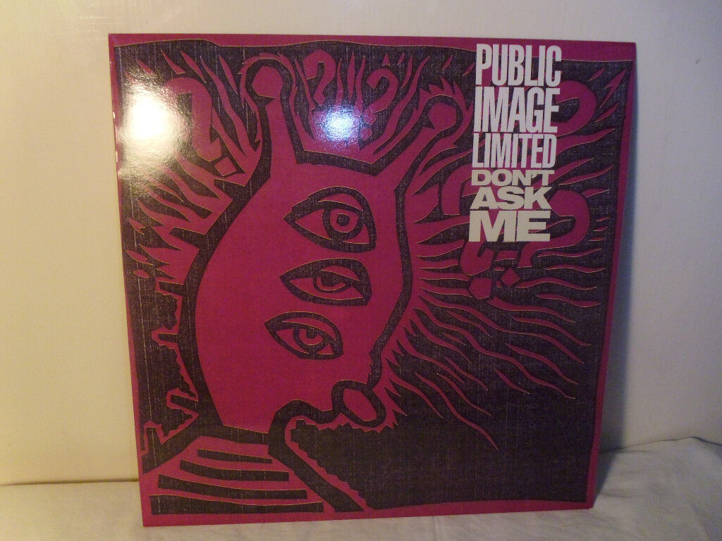 "PUBLIC IMAGE LIMITED ""DON'T ASK ME"" VINYL 12"" SINGLE"