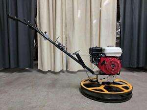 HOC HONDA POWER TROWEL 24 36 48 INCH + BLADES + FLOAT PAN + 3 YEAR WARRANTY + FREE SHIPPING CANADA WIDE