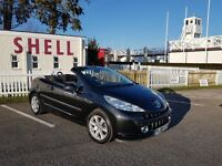 Peugeot 207cc Convertible 2008 Low Miles