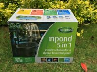 Blagdon Inpond 6000 Pond pump and filter - new & unused £65