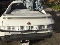 Toyota mr2 mk2 White boot lid and spoiler from Rev 3