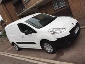 Peugeot Partner 2014 1.6L Ply lined Panel Van