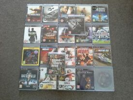 22 ps3 games for sale