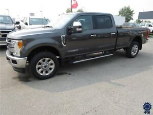 2017 Ford F-350 Lariat Ultimate Package Crew Cab Diesel Leather